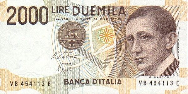 italy currency | Italy2000.0 banknote