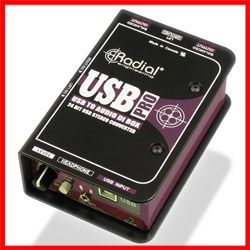 Radial USB-Pro is a high-resolution stereo direct box designed to convert sound files from a laptop computer. Perfect for a classroom or school hall as the audio is clear and high quality. $249 retail but there is a special price for schools and students! #radial #USBpro #audio #laptop http://www.musiclab.com.au/product-info/radial-usb-pro-stereo-usb-laptop-di/
