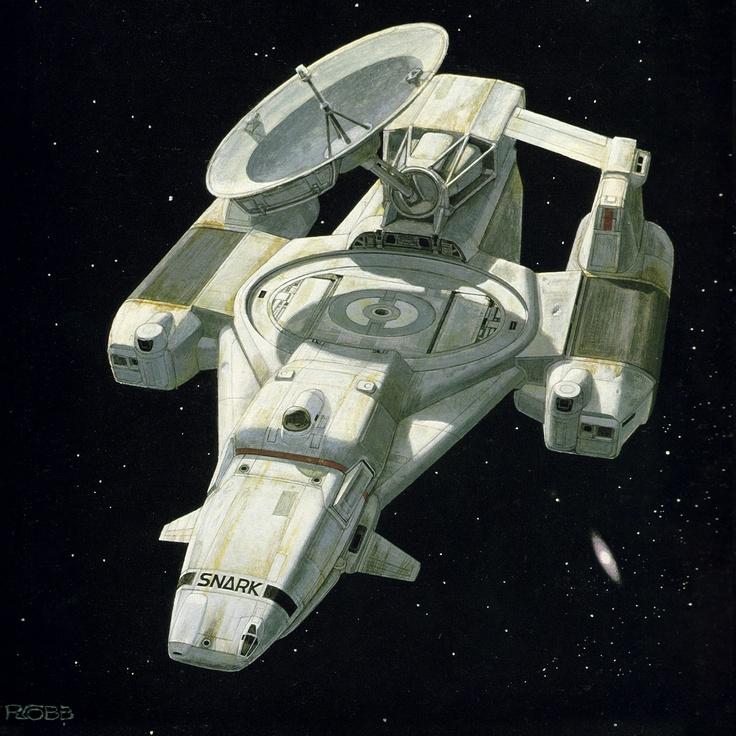 Snark, the original spaceship design for Alien by Ron Cobb ...