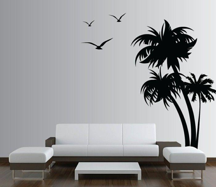 17 best ideas about Wandtattoo Baum Weiß on Pinterest - wandtattoo für wohnzimmer