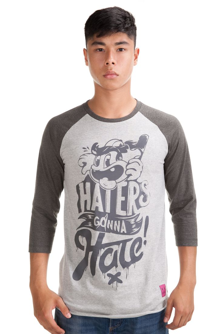 Hater Baseball Melange Tee Rp. 299,000 Available in S, M, L and XL