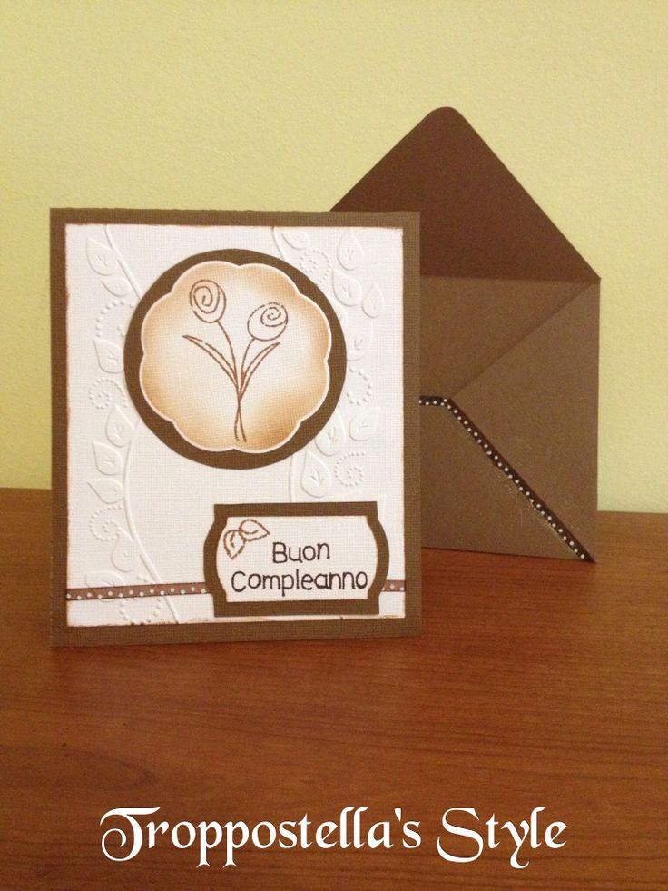 """Card """"Buon Compleanno"""""""