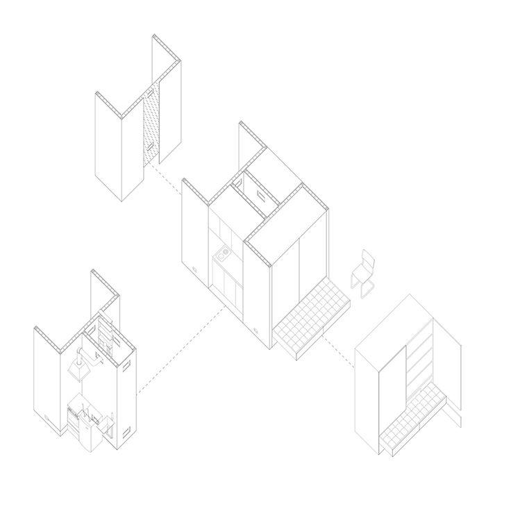 Jack Self, Cenobium: Housing for the Ninety-Nine Percent, London, 2014
