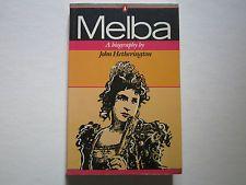 ( DAME NELLIE Opera Singer ) MELBA - A Biography - JOHN HETHERINGTON