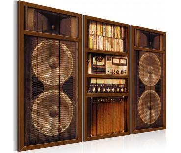 Modernes Wandbild Vintage Radio
