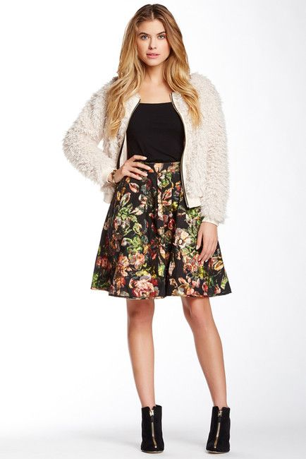 Eden Reversible Print Bubble Skirt