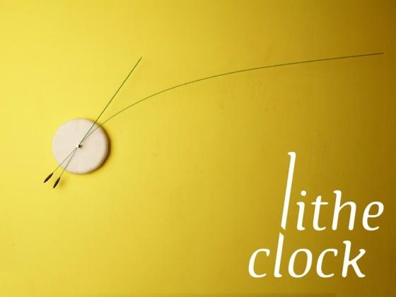 しなやかな時計。Lithe Clock: Dance Through Time by Studio Ve, via Kickstarter.