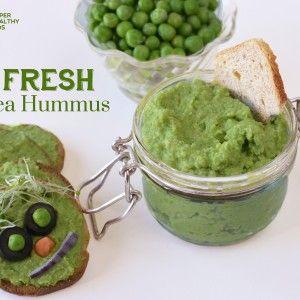 Fresh Green Pea Hummus