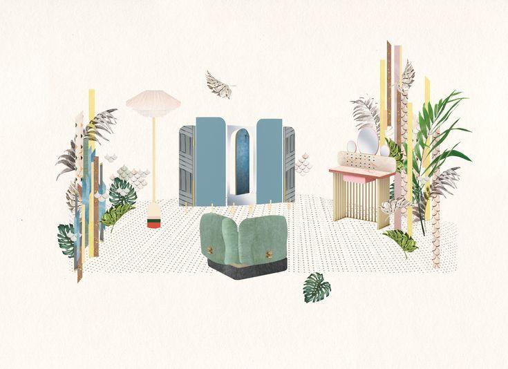 """Vedi questo progetto @Behance: """"The Happy Room by Cristina Celestino for FENDI"""" https://www.behance.net/gallery/50748369/The-Happy-Room-by-Cristina-Celestino-for-FENDI"""