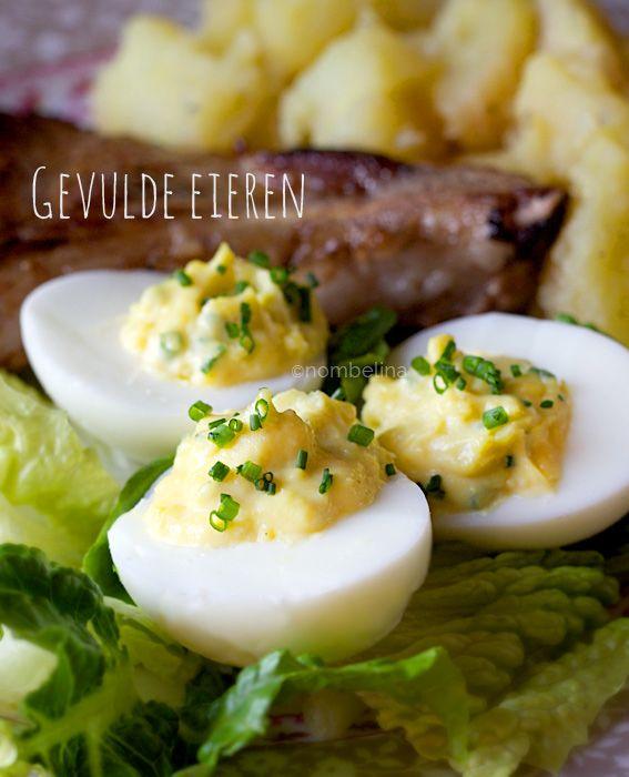 Gevulde Eieren - Nombelina's Foodblog