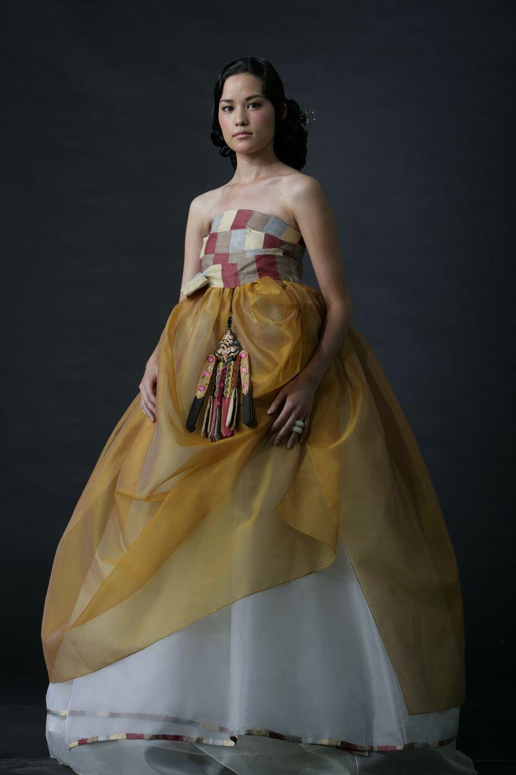 Korean,김 미희. Hanbok Dress   KIM MeHee hanbok couture