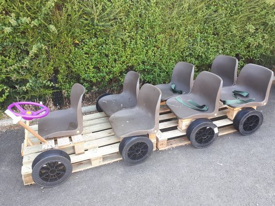 15 adorable recycled pallet ideas for kids