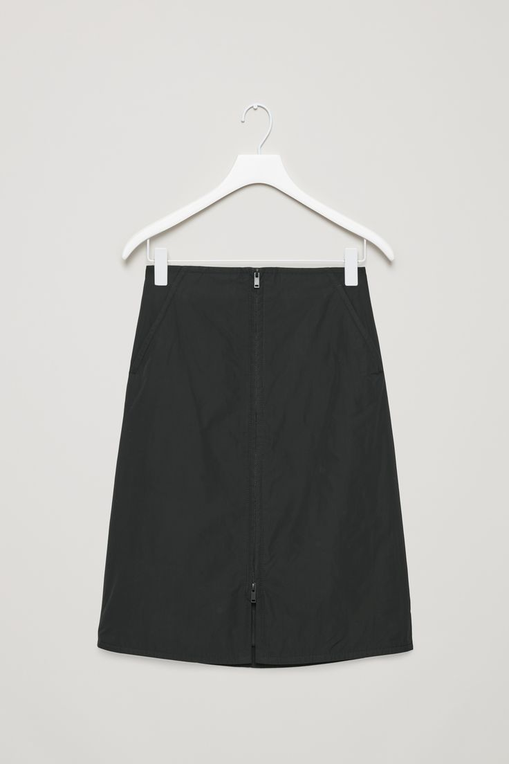 COS | Padded A-line skirt