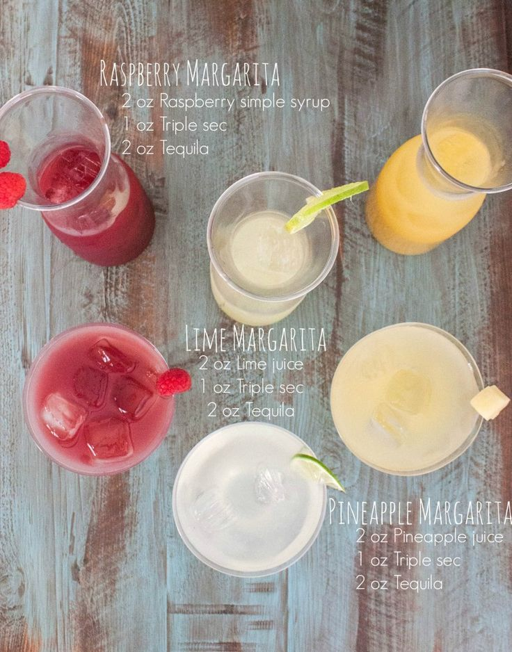 How to make a margarita bar with 3 types of margaritas