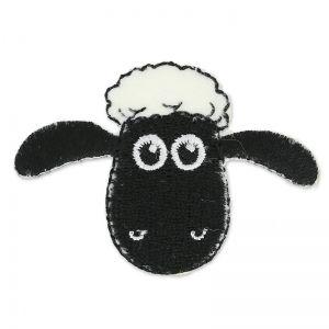 Ecusson Thermocollant Shaun le mouton. Ecusson thermocollant.  Mode d'emploi : Poser le motif à l'endroit souhaité, recouvrir d'un chiffon et repasser en appuyant fort pendant 20 s. Puis tourner et repasser à l'envers. A partir de 3,60€ ici >>> http://www.perlesandco.com/Ecusson_Thermocollant_Shaun_le_mouton_55x37_mm_BeigeNoir_x1-p-74253.html