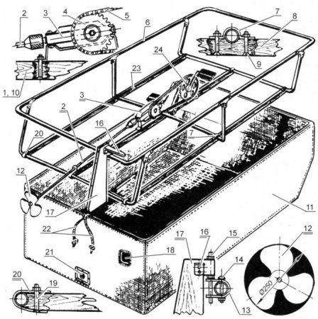 самодельная лодка чертеж