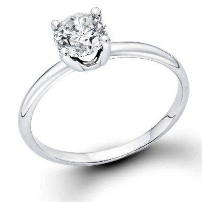 1/2 ctw. Round Diamond Solitaire Engagement Ring in 14k White Gold   Be the first to review this item   Like   (0)  Suggested Price:$2,798.00  Price:$1,473.00   Sale:$599.00   You Save:$2,199.00 (78%)