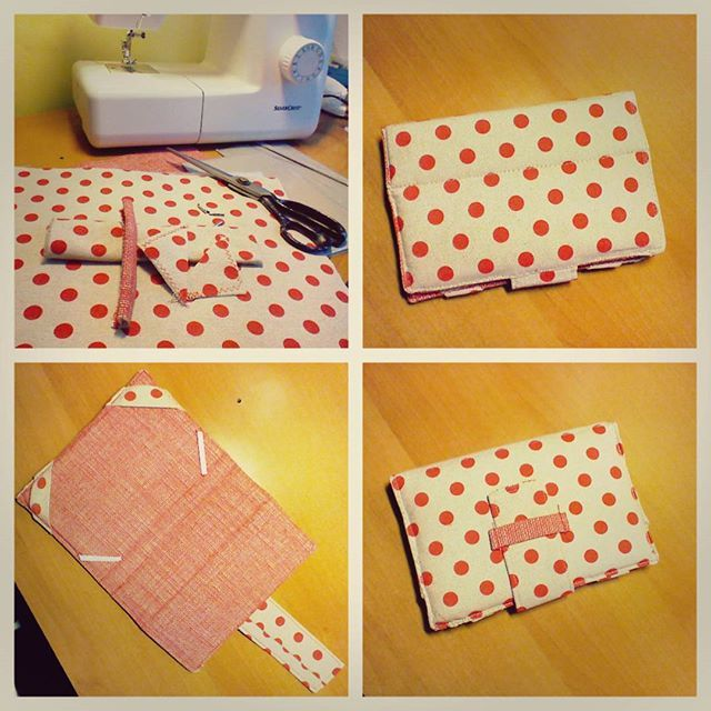 Yeah!  Homemade red dot tablet case is done. :)