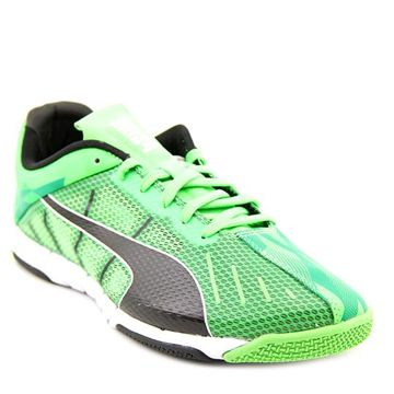 Puma have made a pair of shoes that are track-ready and cool enough to wear into the night. This bright pair of neon green shoes are designed for both men and women.  http://coolneonshoes.com  #shoe #trainer #green #puma #neon