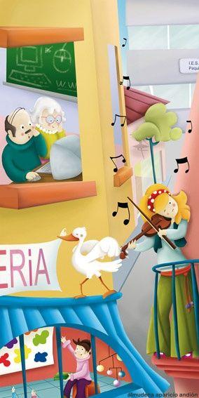 Ilustración del ilustrador Almudena Aparicio de la Agencia de Ilustración Luisannet: www.luisan.net/ilustracion.php