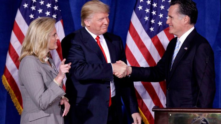 ICYMI: The Mitt Romney-Donald Trump pact: As logical as it is shallow - Newsday