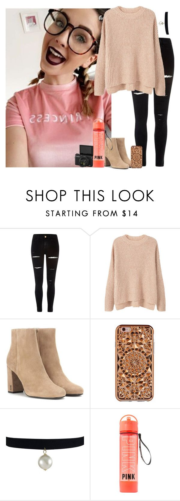 """""""Vlogging w/ Zoe"""" by victoriadrag ❤ liked on Polyvore featuring River Island, MANGO, Yves Saint Laurent, Felony Case, YouTubers, Zoella, ZoeSugg and vlogging"""