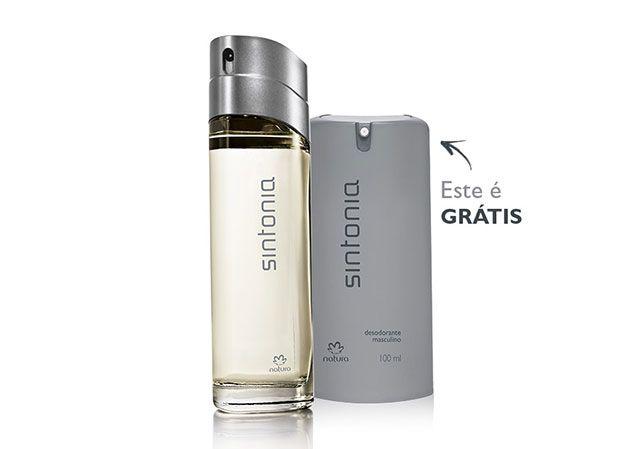 26dea3946e1a1 Kit Sintonia Masculino - Desodorante Colônia + Desodorante Spray de R   132,50 por R  104,80 ou 3 x de R  34,93 sem juro…   Perfumaria Feminina -  Natura