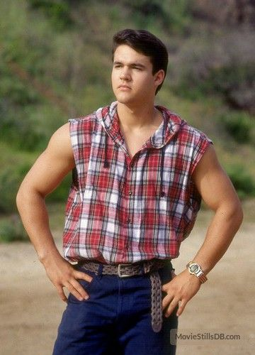 Mighty Morphin' Power Rangers publicity still of Austin St. John