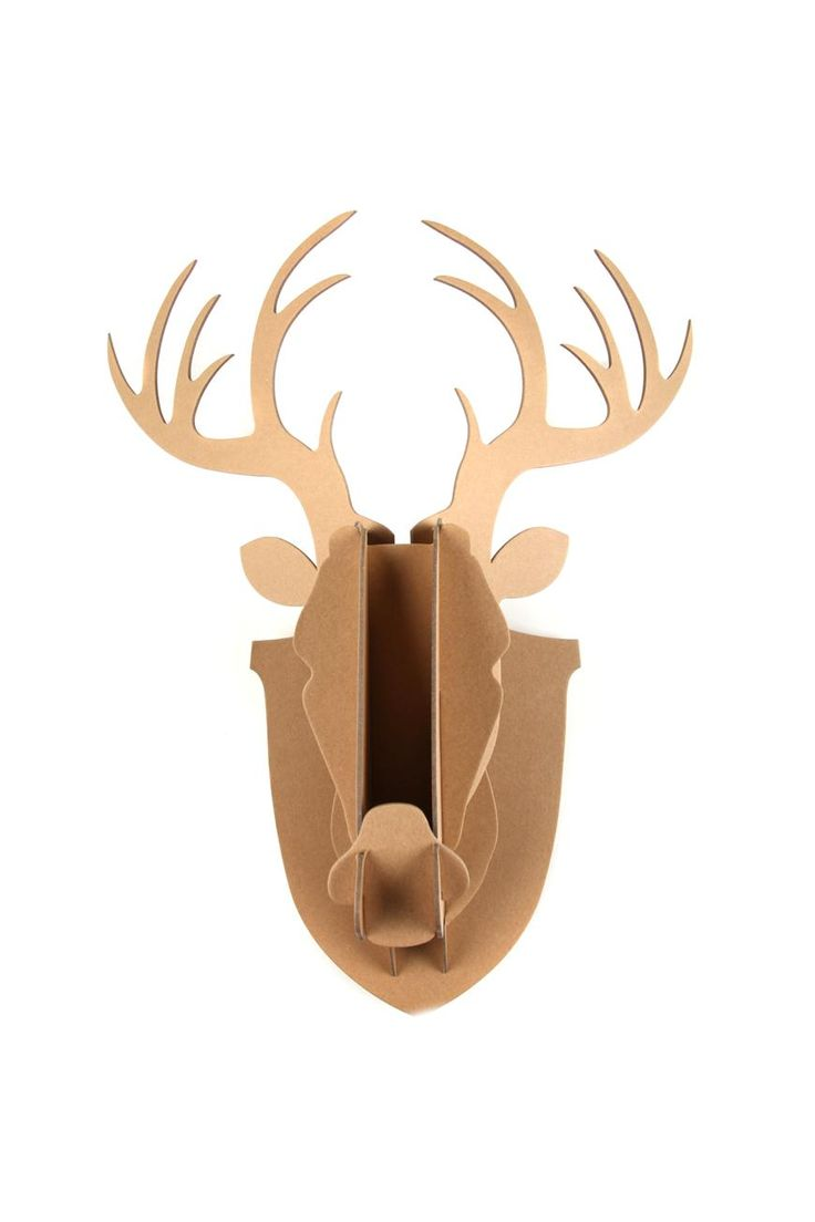 Want your place to look like a manly ranch without the whole dead animal thing? We hear you, and we hear you good! Our range of cardboard stag heads are completely animal cruelty free. So easy to put together that even your dog could do it and with our range of crafting products, we personally love mixing our own stag designs with the per printed ones. Perfect as a decor accessory or gift, these vegan-friendly taxidermied stags come in a range of prints and are a true Typo signature…