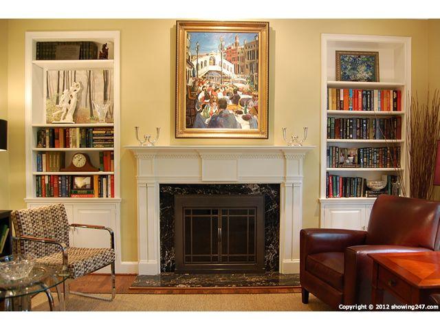 living room bookshelves around fireplace living room highlighted rh pinterest com Living Room Designs with Fireplaces Built in Bookshelves Ideas
