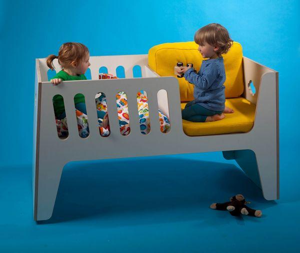 Kullanışlı ve Modern Bebek Karyolası Tasarımı | Dekorlar.com