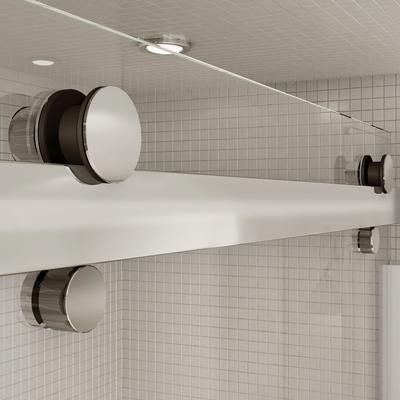 maax halo 60 inch big roller sliding door shower tubshower