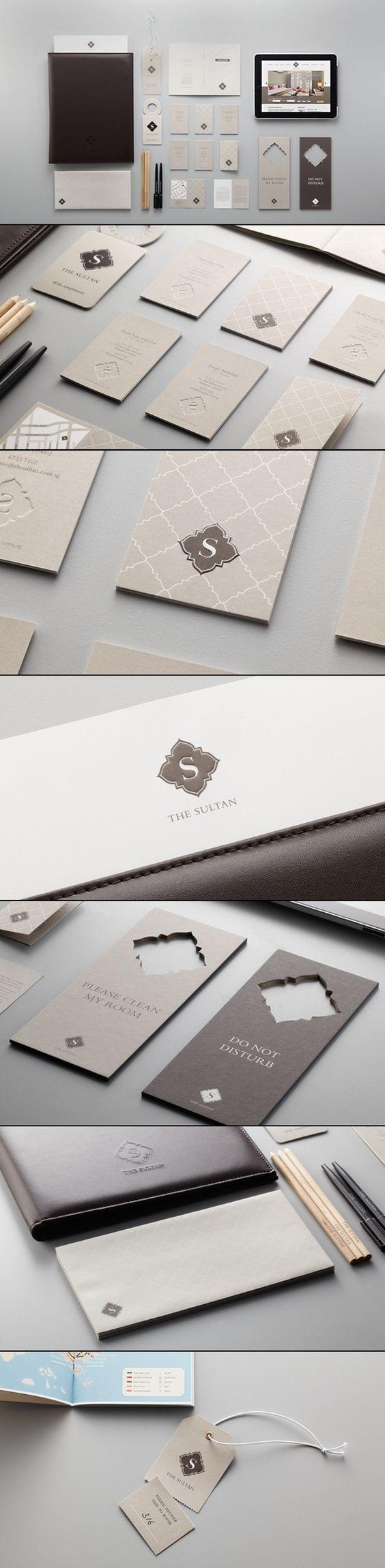 Identidade visual do hotel boutique The Sultan