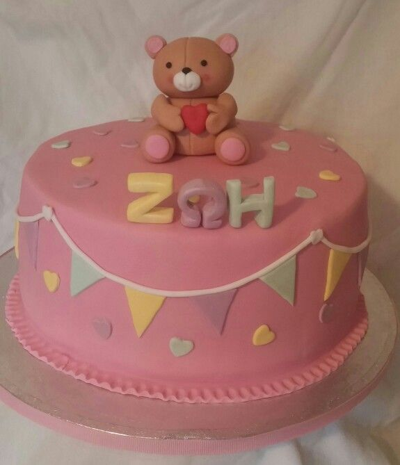 1st birthday cake by Konstantina Chalkia