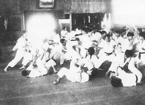 Keio University, private university in Tokyo, is said to be the first university in which a karate club was formed in the mainland of Japan in 1925. It arose in the wake of the first 'physica…