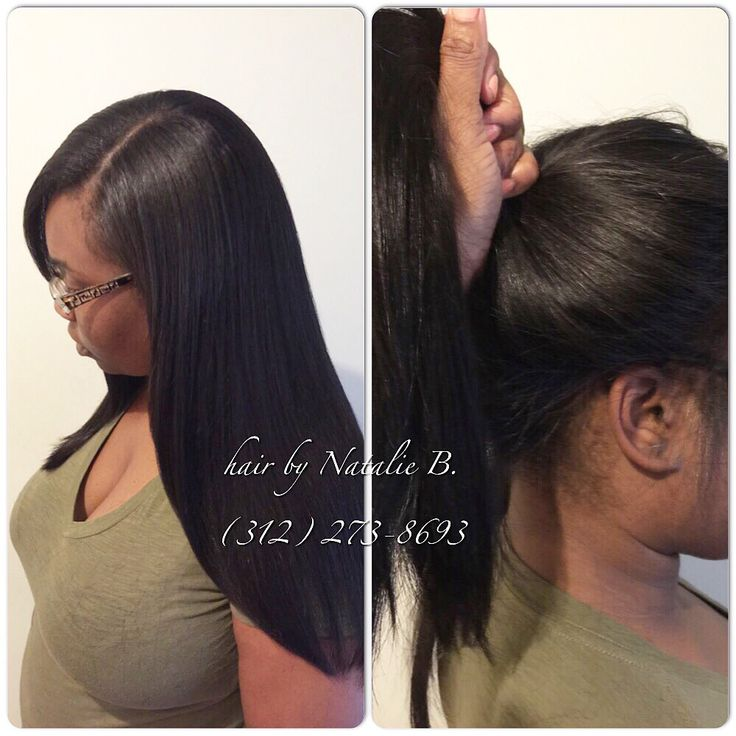 Pull your sew-in into a high ponytail!!! Versatile and ...
