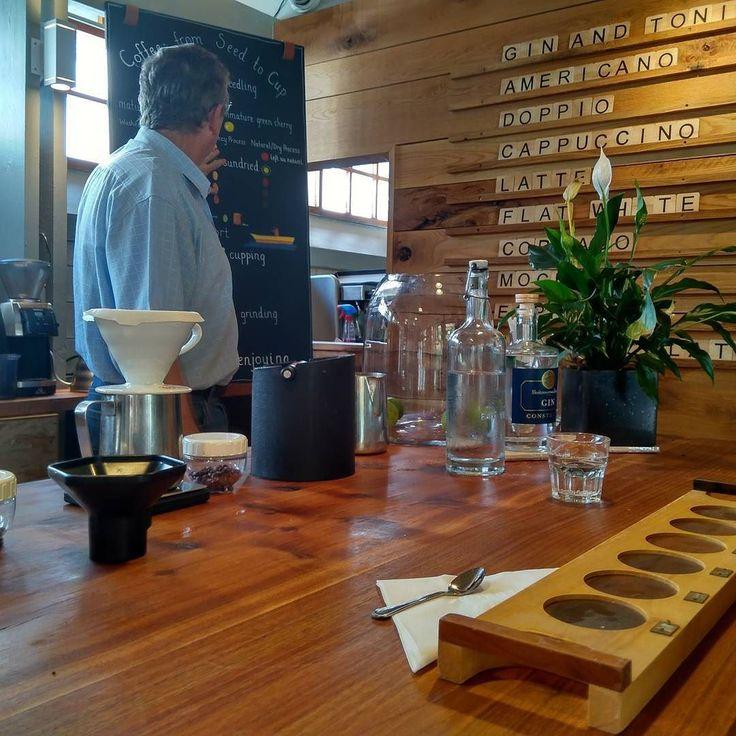 Having fun doing a tasting with @quaffeesa today! #coffee #capetown