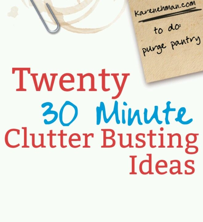 110 best getting rid of clutter images on pinterest for How to get rid of clutter