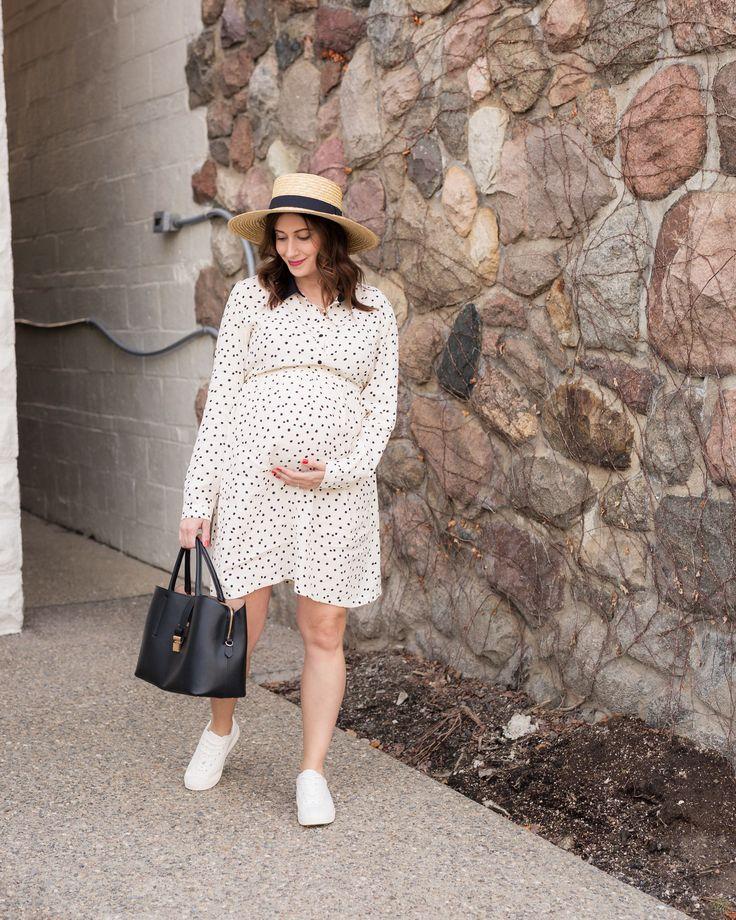 8e8cbf339035b third trimester pregnancy dress you can wear to work   Bump Style ...