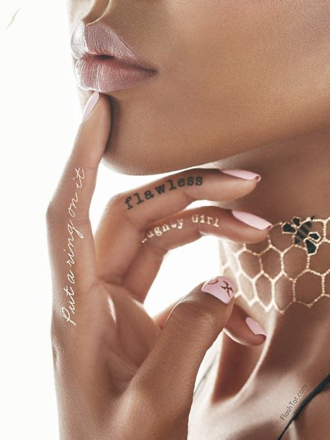 We've rounded up our favorite shoe-sized gifts. Pictured: Beyoncé Flash Tattoos Pack