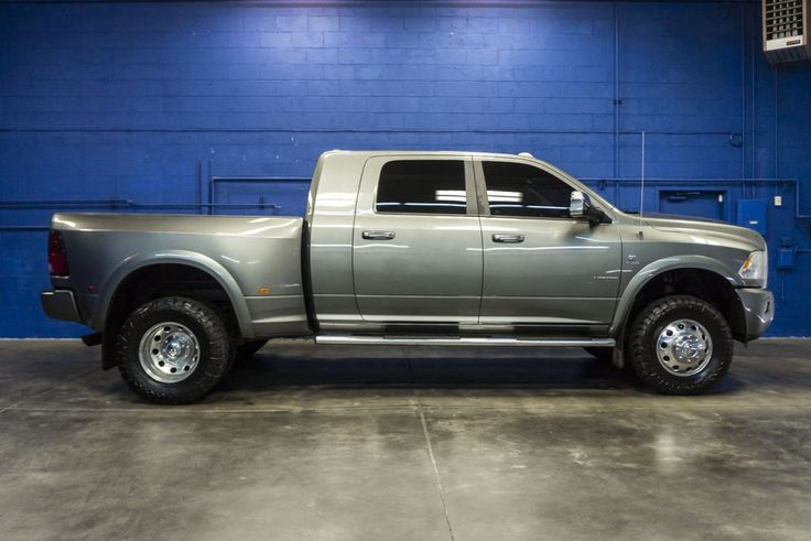 2012 Dodge Ram 3500 Dually Limited 4x4 Cummins Turbo Diesel Mega Cab Truck For Sale at Northwest Motorsport! #nwmsrocks #dieseltrucks #dually #cummins