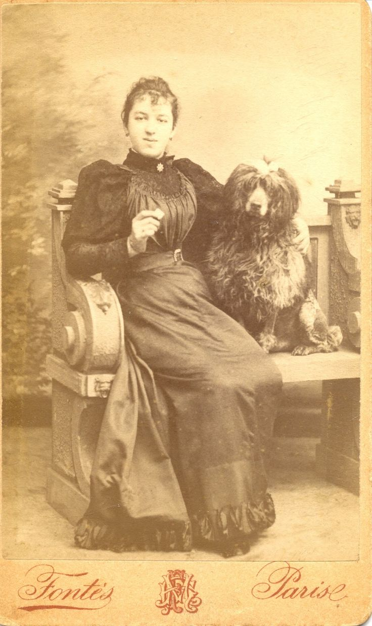 Google Image Result for http://2.bp.blogspot.com/-SFBO8gjnR2s/UD51A-qTNoI/AAAAAAAAAgo/uqbAeAhJ3Ts/s1600/1800s-old-poodle-pictures-vintage-parti-m-h-fontes-paris-ccLadyBenchStn.jpg