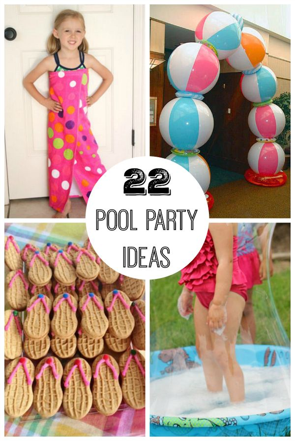 It's so hot outside, which means it's the perfect time for a pool party! Whether you're celebrating a birthday with a pool theme or just inviting some friends over for a fun bash, there are 22 ideas here to help... Continue Reading →