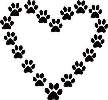 Image result for dog paw print clip art