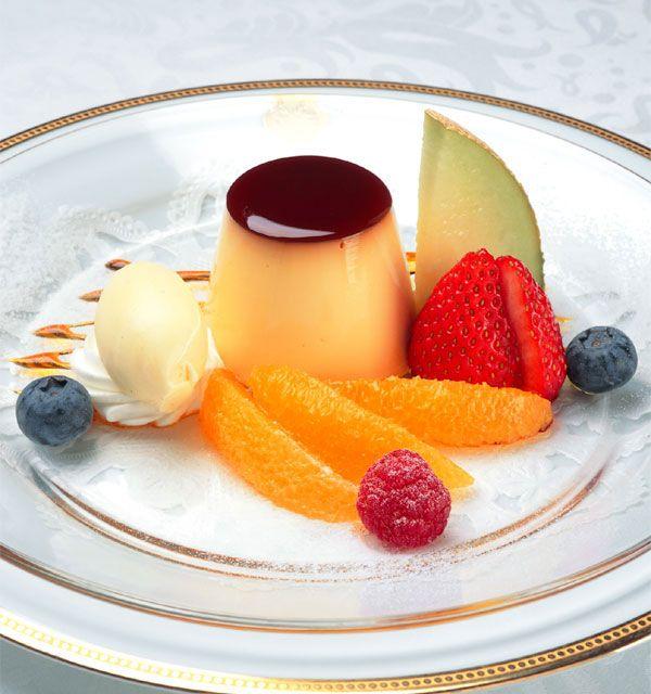 Japanese Custard Pudding recipe