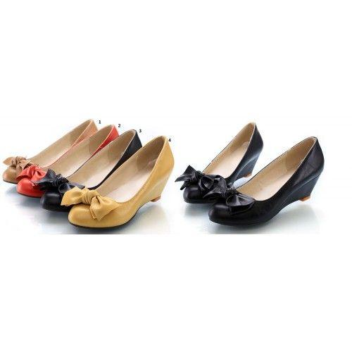 Cunei delle donne di modo pompa Tacchi Size 30 31 32 33 34-43 scarpe personalizzate con i cunei