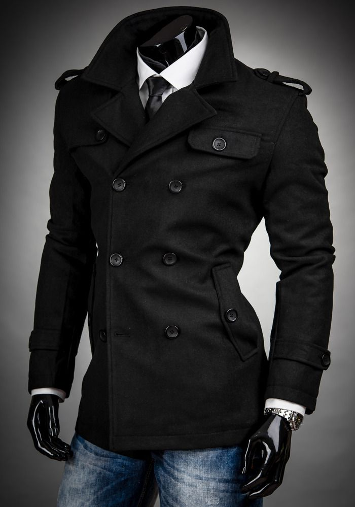 17 Best ideas about Men's Peacoats on Pinterest | Mens peacoat