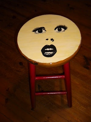 Painted Bar Stool I Love Chairs Pinterest Paint Bar