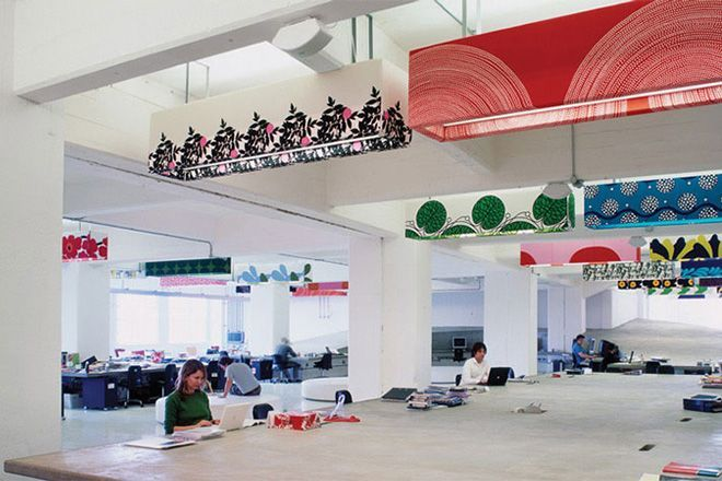 mother londons concrete desk skate ramp check grandiose advertising agency offices