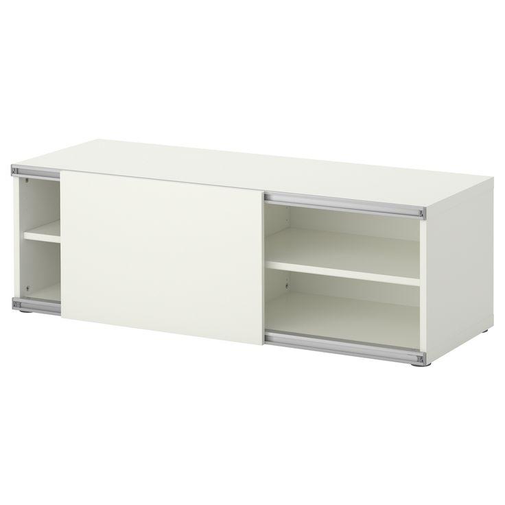 BESTÅ Storage combination w sliding door - IKEA